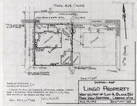 Location-Map Lingo Property West 60. Feet of Lot 4, Block 261 Park View, Addition, Laramie, Wyo.