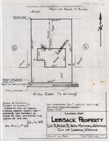 Location-Map Lebsack Property Lot 5, block 3, Iron Mountain Addition cityof Laramie, Wyoming