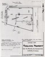 Location-Map Ferguson Property Lot 4, Block 2, Iron Mountain Add. Laramie, Wyoming