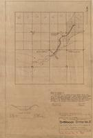 Map to Accompany Application for Sherwood Ditch No. 2 From Poverty Draw, Trib. of Little Laramie R. Al Sherwood, Applicant P.O. Box 255, Laramie, Wyoming