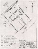Location Survey Vogel Property Lot 10, Block 37 Spring Creek Addition City of Laramie, Wyoming