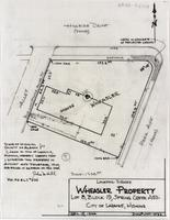 Location-Survey Wheasler Property Lot 8, Block 19, Spring Creek Add. City of Laramie, Wyoming