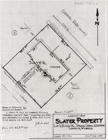 Location-Map Slater Property Lot 3, Block 36 Spring Creek Addition Laramie, Wyoming