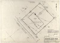 Plot-Plan Fleming-Julian House Lot 9, Block 32, Spring Creek Addition City of Laramie, Wyoming