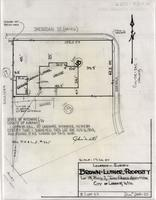 Location-Survey Brown Luther Property Lot 18, Block 2, Twin Parks Addition City of Laramie, Wyo.
