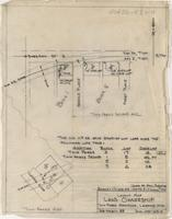 Layout Map Land Ownership Twin Parks Additions, Laramie, Wyo.