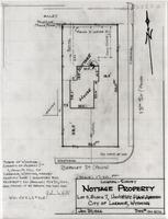 Location-Survey Nottage Property Lot 5, Block 7, University Place Addition City of Laramie, Wyoming
