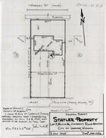 Location Survey Statler Property Lot 7, Block 16, University Place Addition City of Laramie, Wyoming