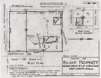 Location Map Blake Property North 148 FT of Lot 4, Block 64 West Laramie, Wyoming