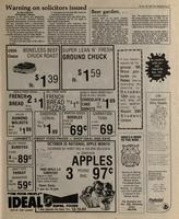 [Page of] Branding iron [October 10, 1984]