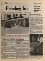 [Page of] Branding iron [April 6, 1983]