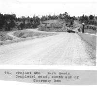 Project 205, Completed Road, South End Of Guernsey Dam