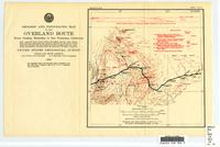 Geologic and topographic map of the overland route from Omaha, Nebraska, to San Francisco, California