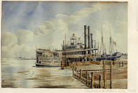 Steamboats On The Alabama River, Mobile