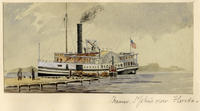 Steamer, Saint John's River, Florida