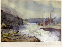 Falls of the Genesee, Rochester, New York State