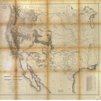 Map Of The Territory Of The United States From The Mississippi To The Pacific Ocean