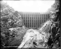 La Prele Dam, Reinforced Concrete Construction