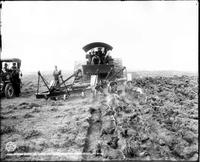 Steam Plow At Work On Unland's Farm, Near Douglas, Wyoming