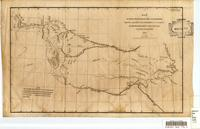 Map of the route pursued by the late expedition under the command of Col. S.W. Kearny, U.S. 1st Dragoons