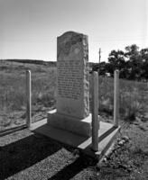 Cheyenne-Deadwood Trail Monument