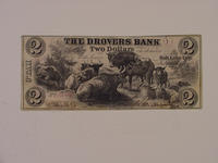 Currency, Drovers Bank, 1856