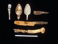 Eating Utensils Found At The Seminoe Trading Post Excavation Site