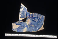 Ceramic Plate Found At The Seminoe Trading Post Excavation Site