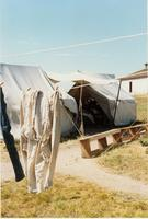 Washer Women's Tents At Historic Fort Laramie