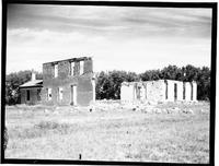 Portion Of The Old Ft. Laramie Ruins