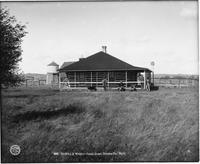 Denecke And Wright's Ranch Home, Natrona County, Wyoming