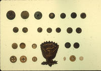 Buttons And Insignia Found At Camp Payne Military Post Site