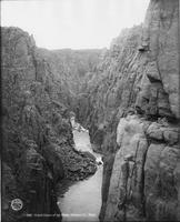 Grand Canon Of The Platte, Natrona County, Wyoming
