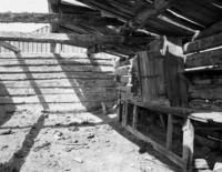 Interior Of Overland Trail Blacksmith Shop