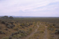 Oregon Trail Ruts In Fremont County