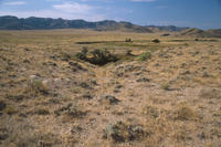 Independence Rock Ruts in Natrona County, Wyoming