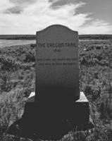 Oregon Trail Marker (Devil's Gate)