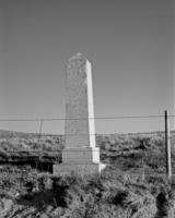 Oregon Trail and Bozeman Trail Intersection Monument, Converse County #13