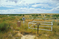 Oregon Trail Monument, Pony Express Marker and Ada Magill Grave
