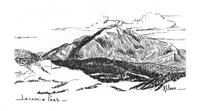A Drawing of Laramie Peak