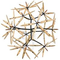 Wooden sculpture in form of a ball
