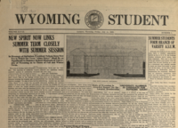 The branding iron and Wyoming student newspapers