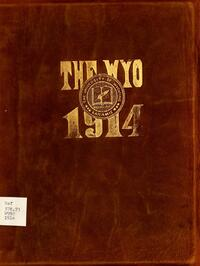 Cover of the 1914 edition of the The Wyo yearbook