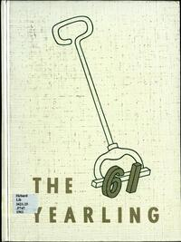 Cover of the 1961 edition of the The Yearling yearbook